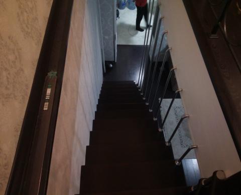 Больцевая лестница вид сверху